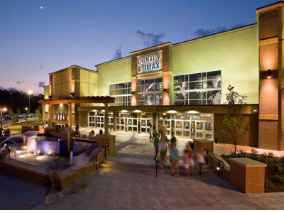 CHENAL 9 IMAX in LITTLE ROCK ARKANSAS by Luke Draily Construction Company a General Contractor in Kansas City Missouri