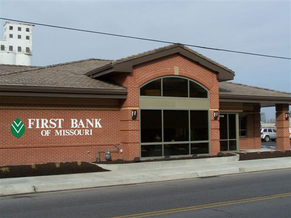 First Bank of Missouri in ST. JOSEPH MISSOURI by Luke Draily Construction Company a General Contractor in Kansas City Missouri