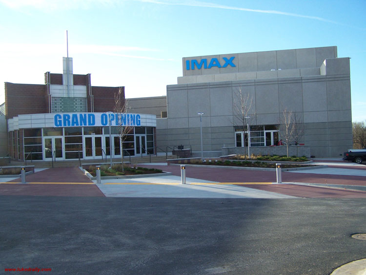IMAX Springfield 11 in SPRINGFIELD MISSOURI by Luke Draily Construction Company a General Contractor in Kansas City Missouri