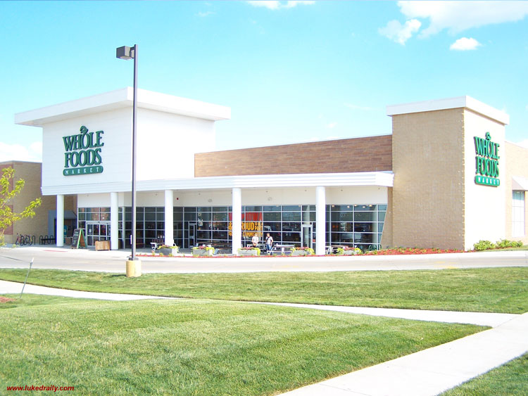 Whole Foods Market in WEST DES MOINES IOWA by Luke Draily Construction Company a General Contractor in Kansas City Missouri