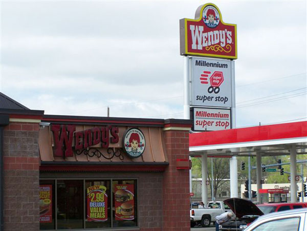 Wendy's C-Store Millennium Superstop by Luke Draily Construction in Kansas City Missouri