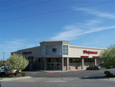Walgreens Pharmacy Retail Construction Project by Luke Draily Construction Company