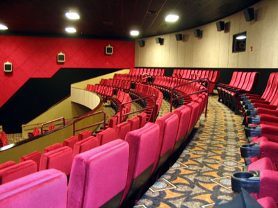 Palazzo 16 Cinemas by Luke Draily Construction in Kansas City Missouri