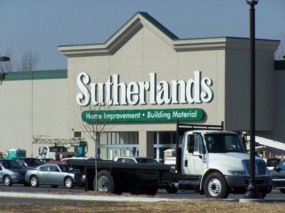 Sutherlands Hardware by Luke Draily Construction in Kansas City Missouri