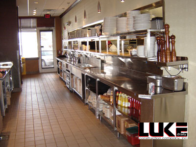 Nick and Jake's Restaurant by Luke Draily Construction in Kansas City Missouri