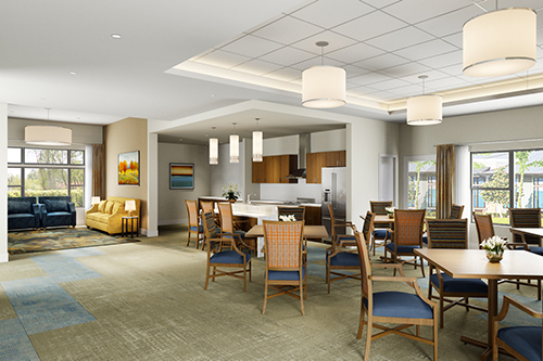 Tiffany Springs Rehab & Healthcare Center Active Construction Project by Luke Draily Construction Company