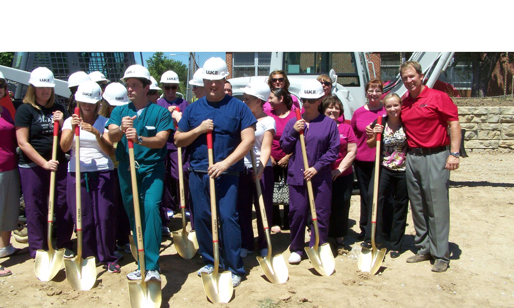 Dentistry for Children groundbreaking ceremony. Gladstone, MO  Dr. Pollina