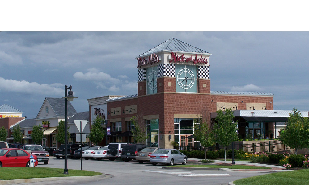 Nick and Jake's Restaurant in Parkville Missouri a new free standing 7,300 retail building by Luke Draily Construction in Kansas City
