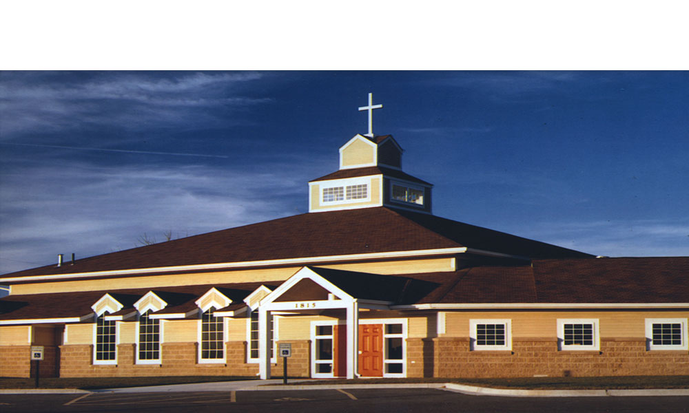 St. Anne's Episcopal Church in Lee's Summit Missouri a 12,000 square feet new free standing building by Luke Draily Construction