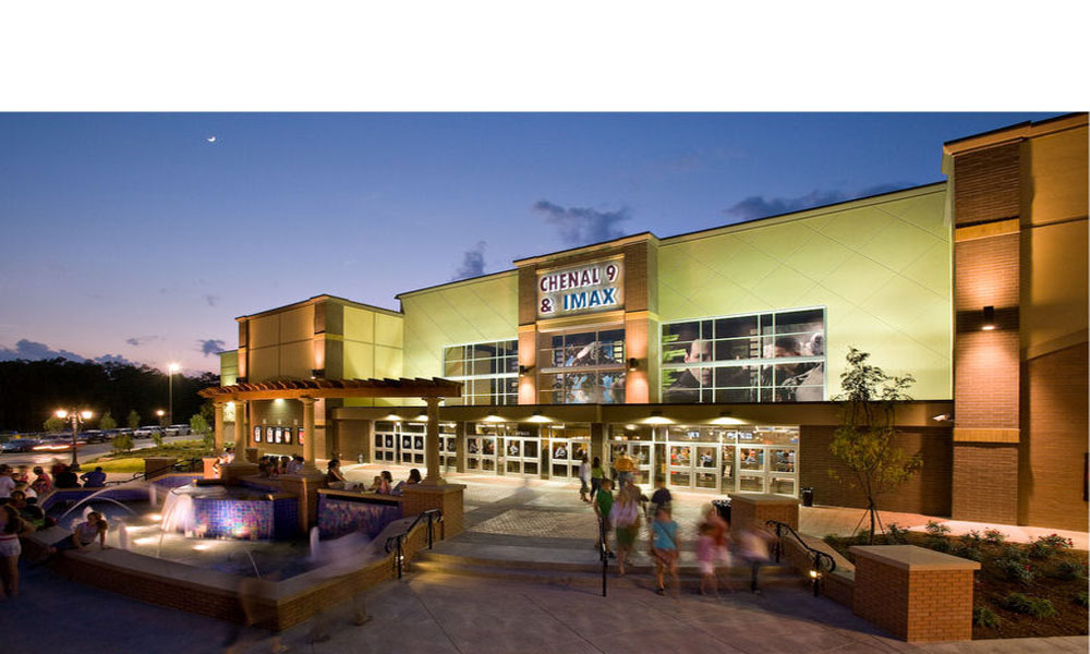 Chenal Imax Theater in Little Rock Arkansas a New Construction and Artist Rendering Completed by Luke Draily Construction in Kansas City Missouri